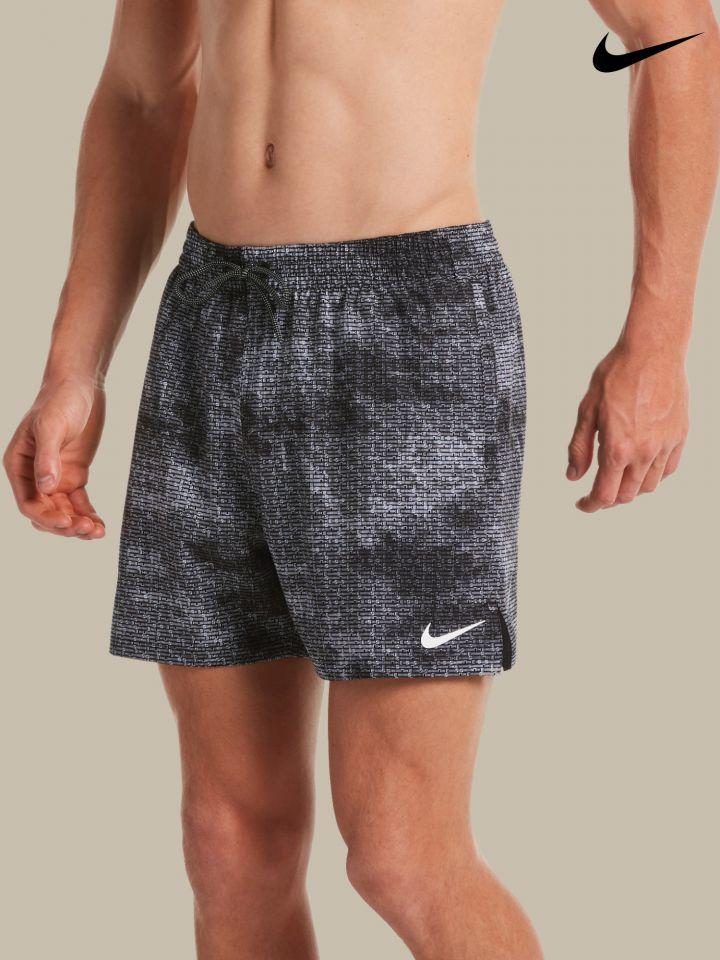 NIKE מכנסי בגד ים מודפסים / גברים