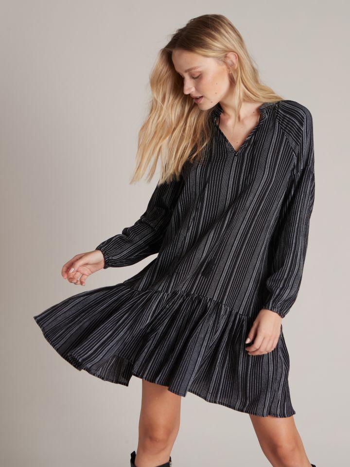 שמלת מיני בוהו אתנית