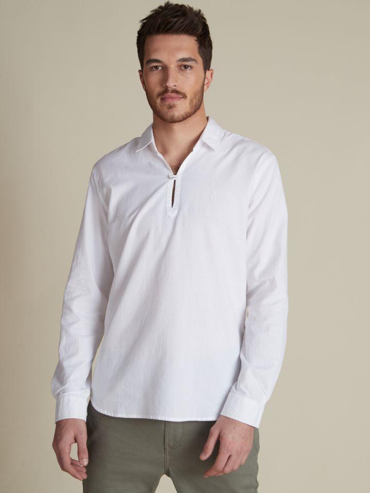 חולצת שנטי לבנה