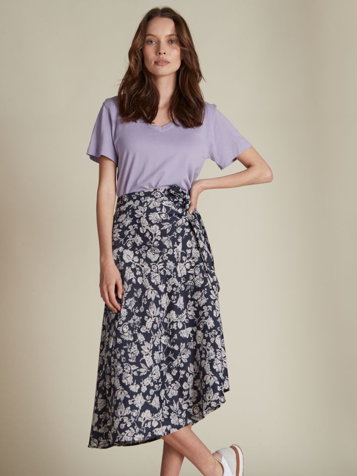 חצאית מידי פרחונית