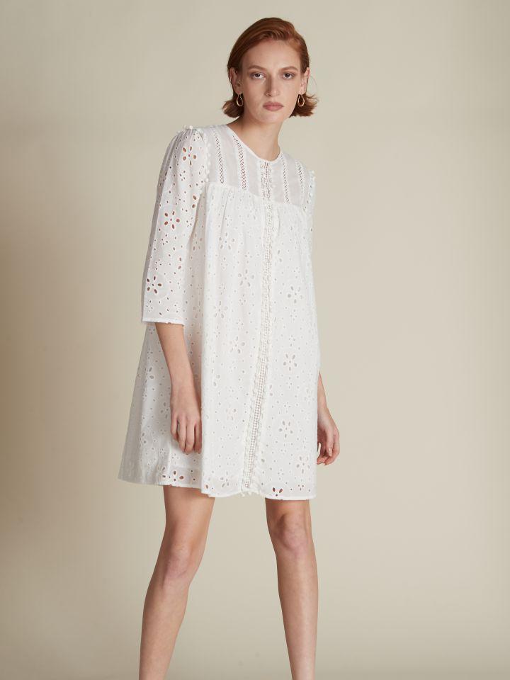 שמלת מיני רקמות