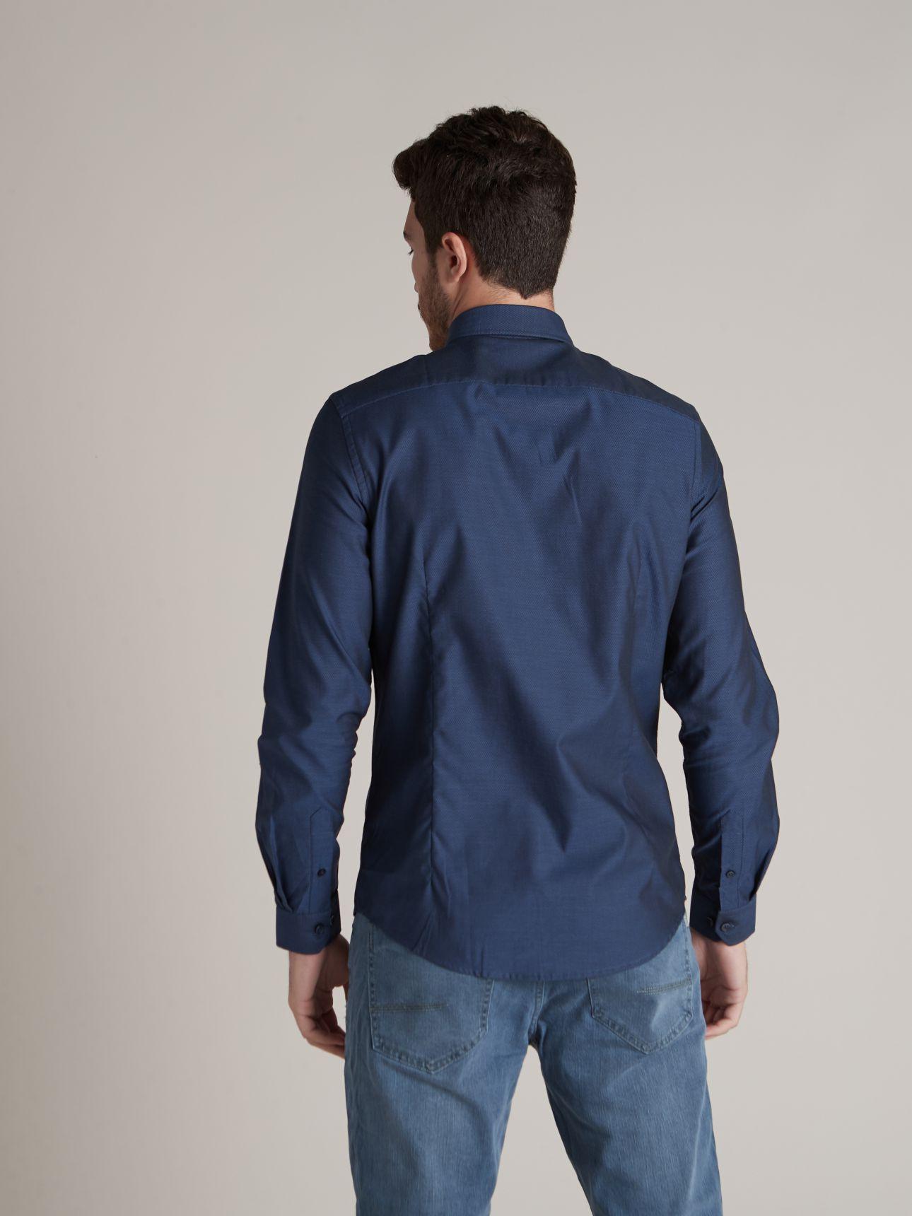 חולצה מכופתרת G19 טקסטור