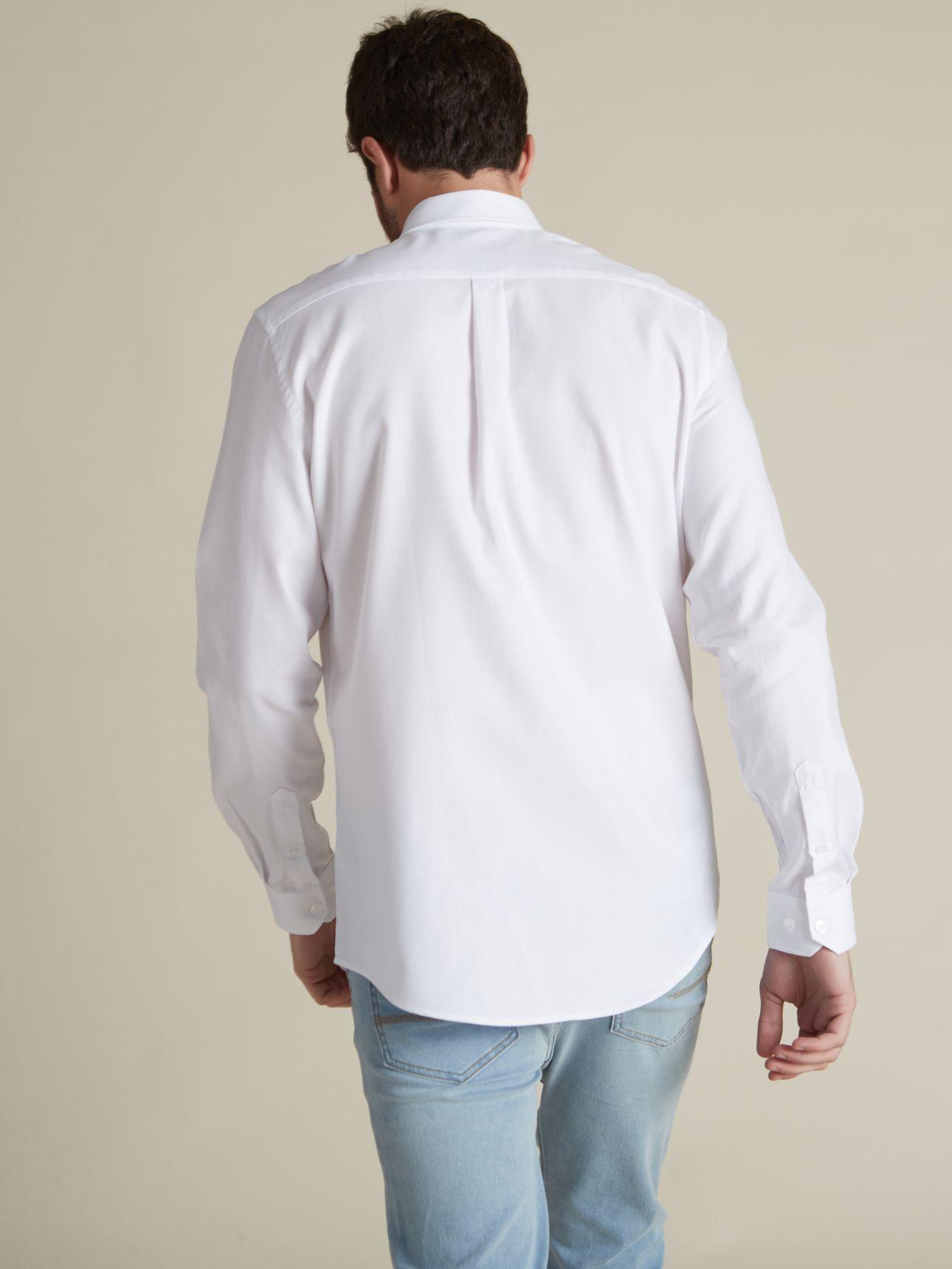 חולצה מכופתרת  ג'קארד