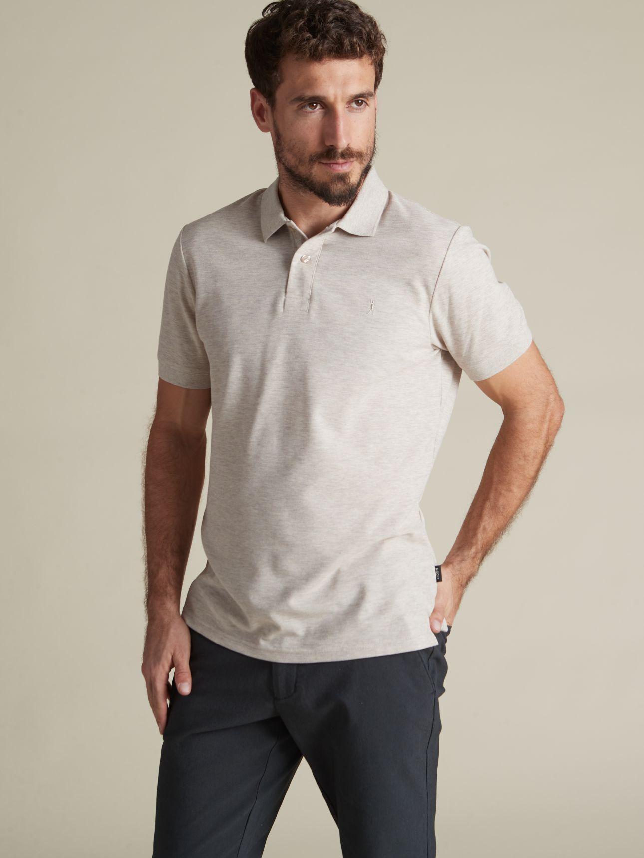 חולצת פולו קלאסית קצרה