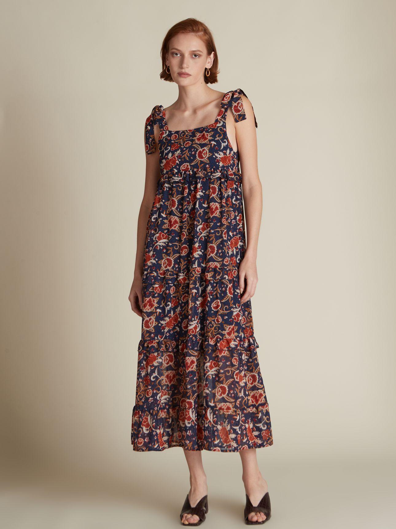 שמלת מקסי קומות FRIDA