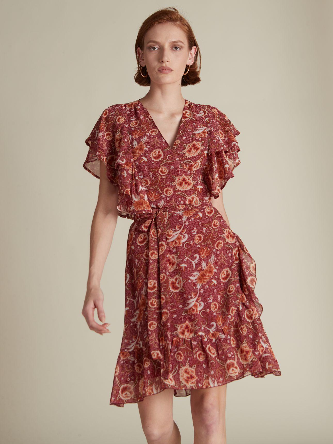 שמלת מיני שיפון FRIDA