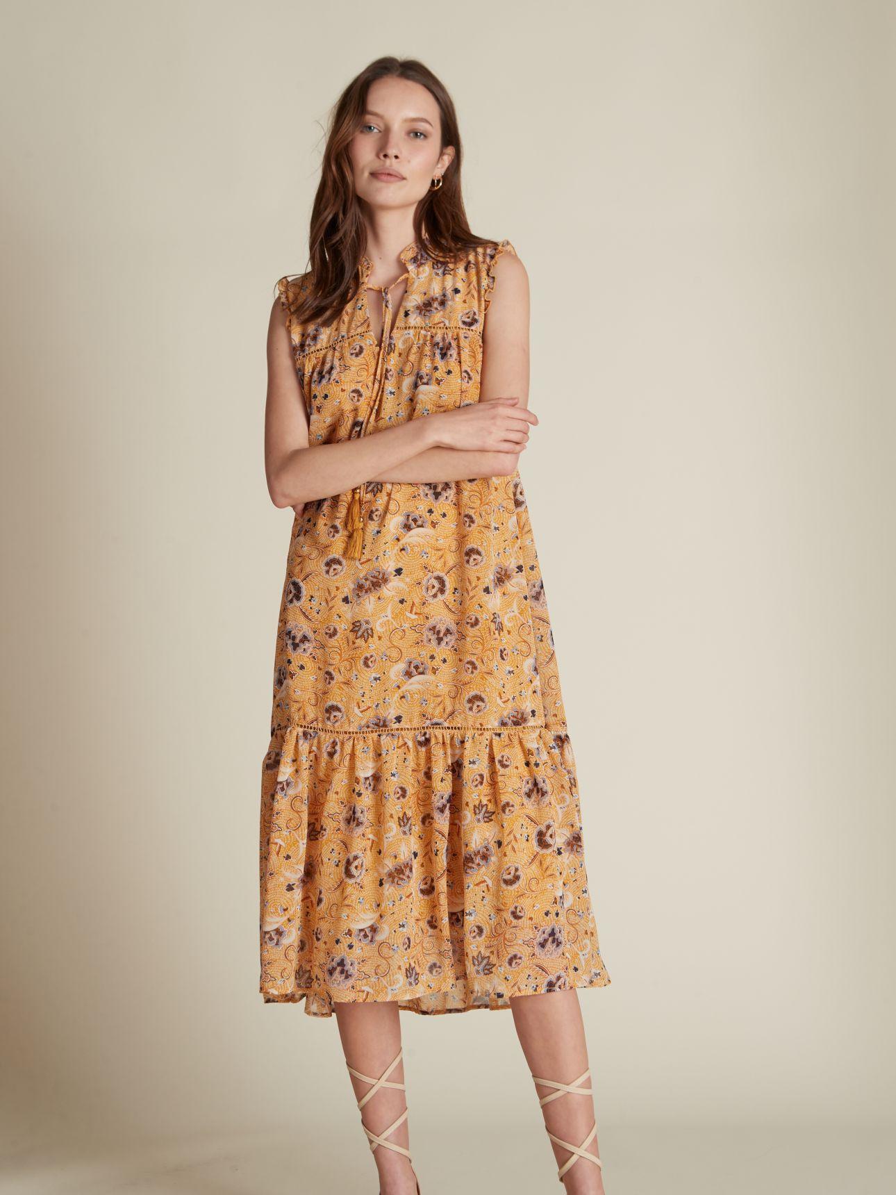 שמלת מידי שיפון FRIDA