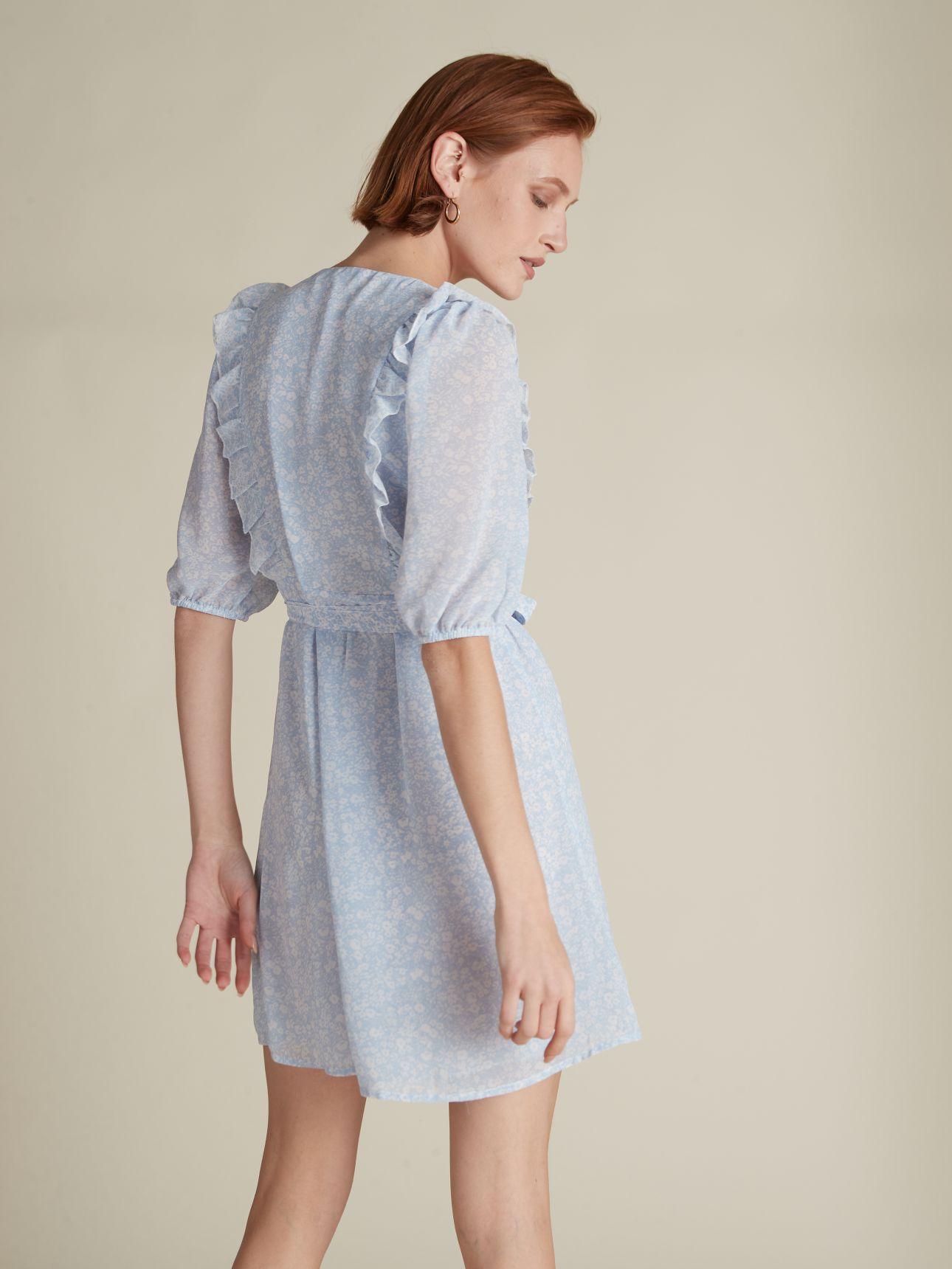 שמלת מיני מעטפת