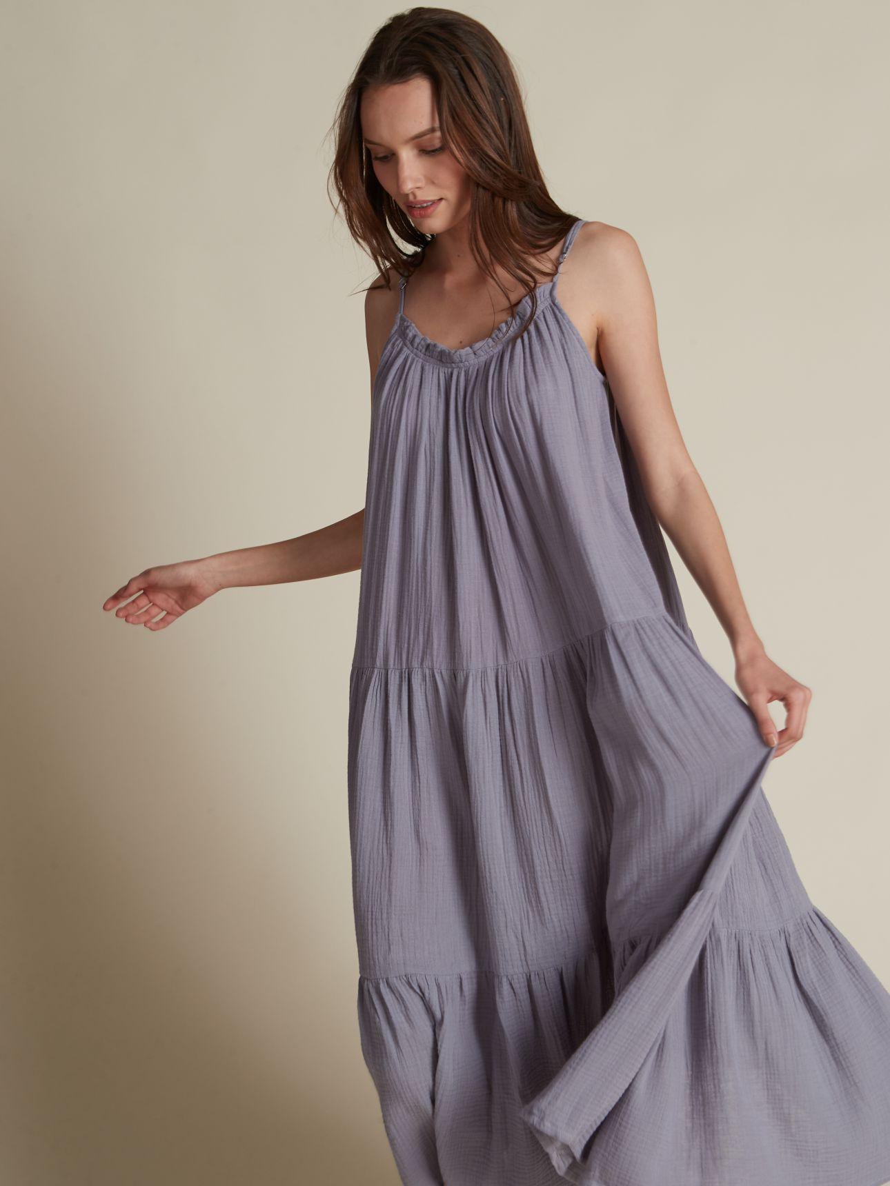 שמלת מקסי טטרה