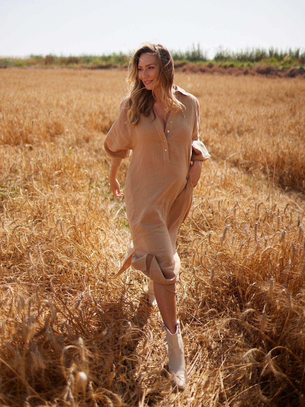 שמלת גלביה טטרה