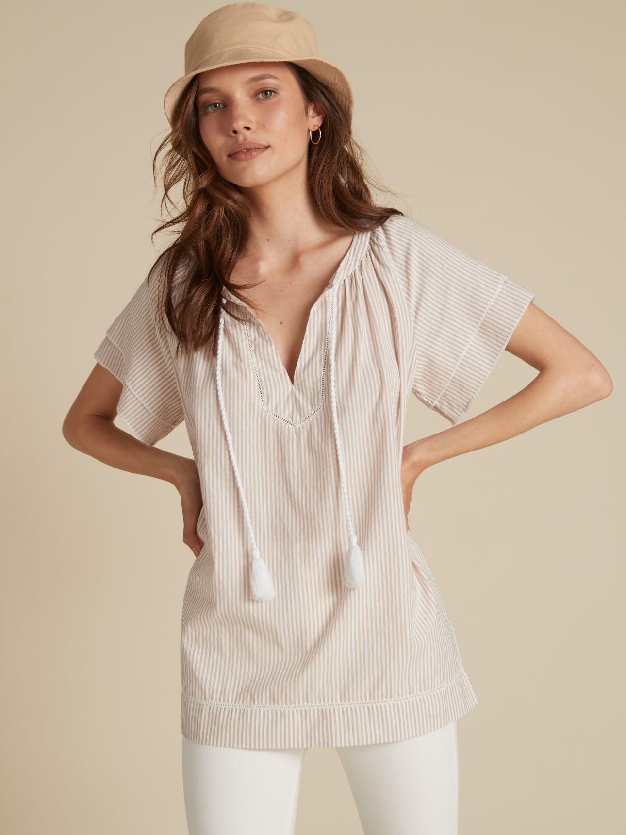 חולצת טוניקה פסים
