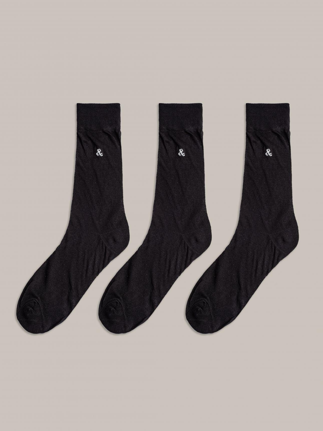 מארז 3 זוגות גרביים COTTON