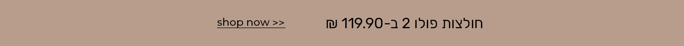 חולצות פולו 2 ב-119.90