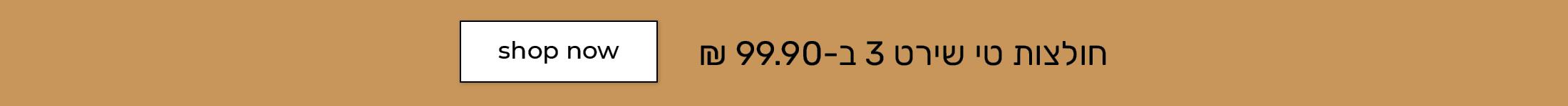 טי שירט 3 ב99.90