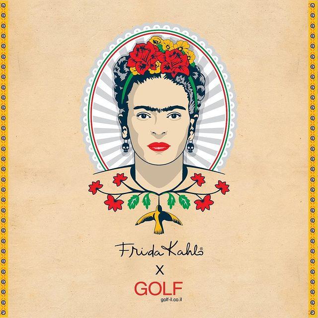 FRIDA KAHLO x GOLF  במיוחד לכבוד יום האישה, בואי להכיר את קולקציית הקפסולה העוצמתית שלנו בהשראת האמנית האייקונית פרידה קאלו❤️